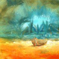 סירה בודדה