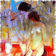 Two Nude Woman