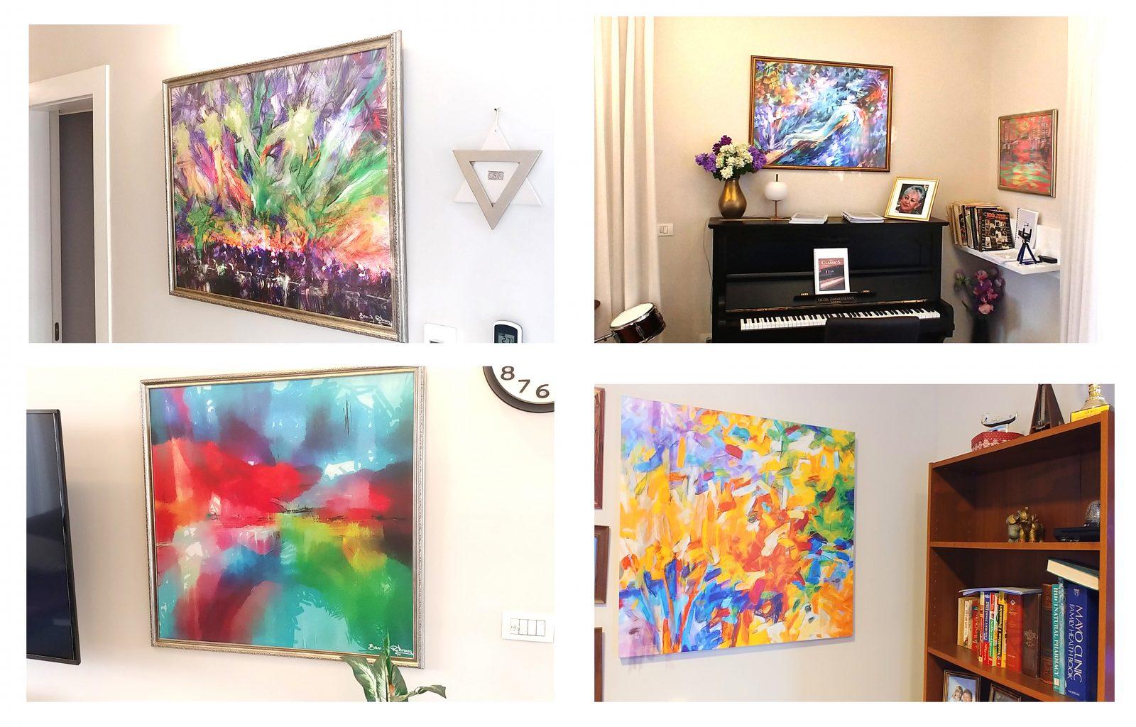 כל הבית עם ציורים של בן רוטמן