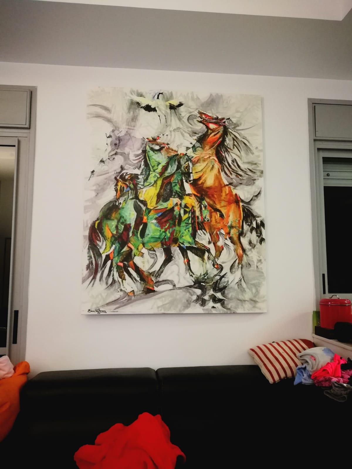 אלעד ונעמה אהבו את הציור