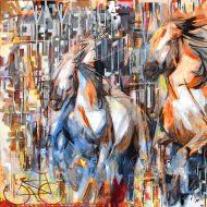 בדמיוני ראייתי גם סוסים דוהרים בתוך העיר