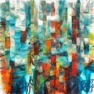 אני רואה מגדלים וצבעוניות של עיר