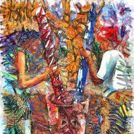 קפה, נשים, קובה, בן רוטמן, צייר שמן