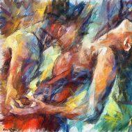 תשוקה,ציור שמן,
