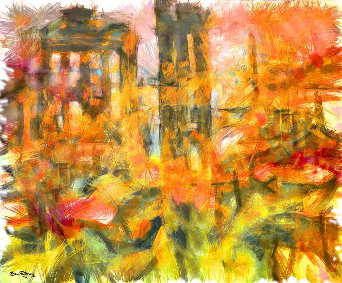פירנצה, שאני חוזר אלייה כל כך הרבה פעמים, המקום שלמדתי בה אומנות