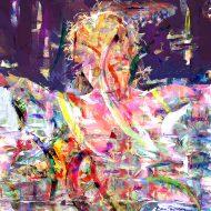 רוחצת בצבעים