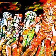 הפגנות וריקוד